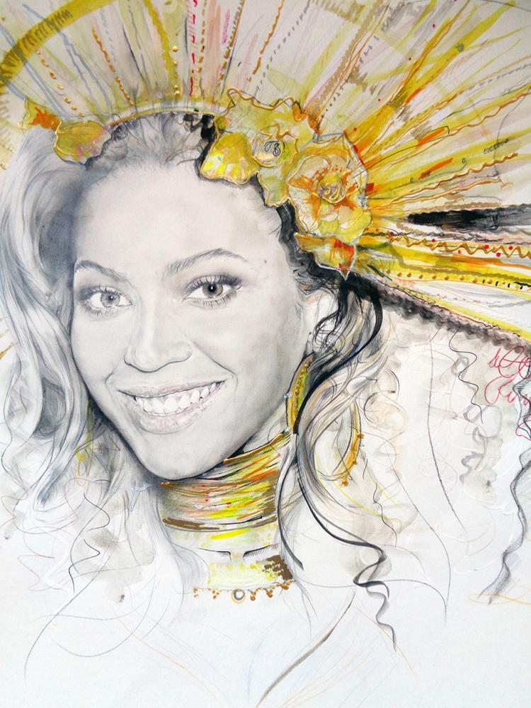 Beyonce by Teah
